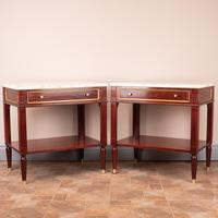 Pair of French Marble Topped Tables (14 of 14)