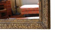 Gilt Large 19th Century Overmantle or Wall Mirror (5 of 9)
