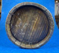 19th Century Beech & Pine Treen Tankard (6 of 11)