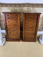 Pair of Mahogany Wellington Chests (7 of 7)