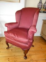 George 1 Style Wing  Armchair