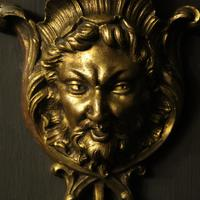 French 19th Century Bronze Bacchus Antique Wall Sconces (4 of 10)