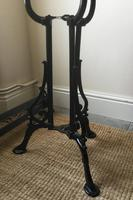 Cast Iron and Marble Victorian Garden Table (2 of 2)