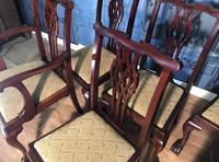 Set of six Edwardian Mahogany Dining Chairs (11 of 11)