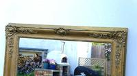 Large Victorian Giltwood & Gesso Overmantle Mirror (4 of 16)