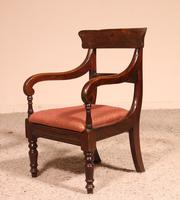 Small Child Chair from 19th Century in Mahogany- England (8 of 8)