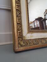 Tall French Antique Mirror c1850 (3 of 9)