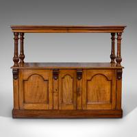 Large Antique Buffet, English, Walnut, Server, Sideboard, William IV c.1830 (7 of 12)