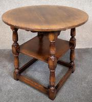 Titchmarsh & Goodwin English Oak Tavern Table / Occasional Table RL87 (4 of 10)