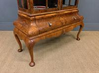 Burr Walnut Dome Topped Display Cabinet (13 of 21)