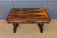 Early Victorian Rosewood Library Table (8 of 15)