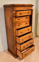 Regency Rosewood Wellington Chest of Drawers (6 of 10)