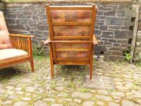Pair of Arts & Crafts Reclining Chairs (3 of 12)