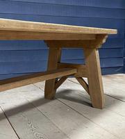Scandinavian Style Bleached Oak Farmhouse Table (12 of 14)