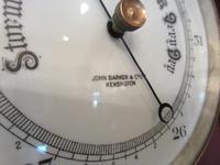 Antique London Bulkhead Marine Barometer (4 of 7)