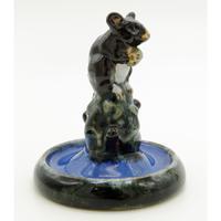 A Rare Royal Doulton Lambeth Antique Art Pottery Mouse Bibelot C. 1920's (2 of 6)