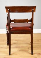 19th Century Regency Mahogany Open Armchair (4 of 9)