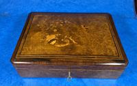 19th Century French Rosewood Jewellery  Box (10 of 11)
