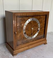 Walnut Chiming Elliott Mantel Clock (5 of 10)