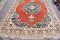 Antique Tabriz roomsize carpet 397x302cm (4 of 8)