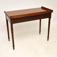 Antique Victorian  Mahogany Writing Table / Desk (8 of 10)