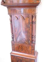 Fine English Longcase Clock D Cowed Manchester 8-day Striking Grandfather Clock Solid Mahogany Case (7 of 19)