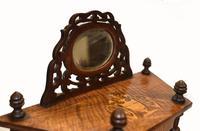 Victorian Whatnot Bookshelf Antique 1860 Furniture (11 of 13)