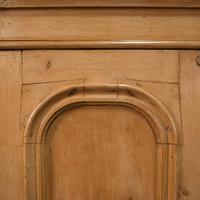 Antique Three Panel Wardrobe, English, Pine, Cupboard, Closet, Victorian c.1900 (9 of 10)