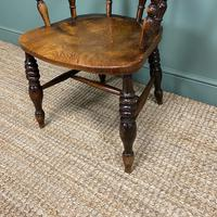 Antique Smokers Bow Chair (5 of 5)
