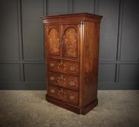 Marquetry Inlaid Rosewood Tallboy (8 of 12)