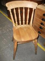 Spindle Back Kitchen Chair - 021-1665