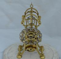 English  Victorian Skeleton Clock (3 of 5)