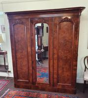 Victorian Scottish Burr Walnut Wardrobe (2 of 7)