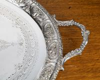 Very Good Quality Early 20th Century Oval Tray (3 of 5)