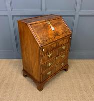George I Style Burr Walnut Bureau (5 of 18)
