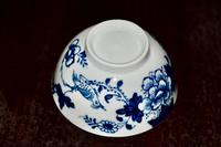 1766-70 Liverpool's Philip Christian Tea Bowl and Saucer 'Bird on a Branch' (4 of 9)
