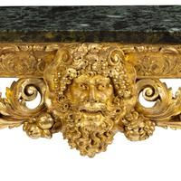 Imposing Victorian giltwood console table in the manner of William Kent (6 of 8)