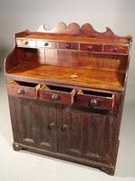 Unusual, Mid 19th Century, Pine Scottish Dresser (2 of 5)