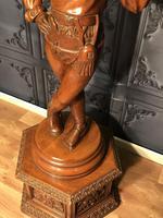 Italian Carved Hardwood Figure of a Boy (14 of 23)