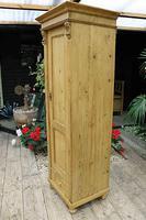 Gorgeous Old Stripped Pine Cupboard / Cabinet / Wardrobe - Hall / Linen / Larder (6 of 11)