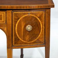 George III Sheraton Period Mahogany Bow Front Sideboard (5 of 7)