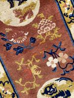 Antique Chinese Ningxia Rug (6 of 9)