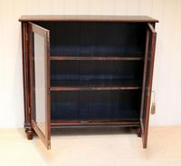 Victorian Rosewood Glazed Bookcase (9 of 10)