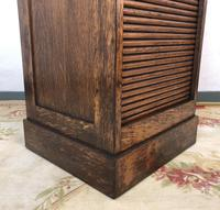 Antique French Filing Cabinet Tambour Roller Shutter (11 of 12)