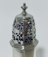 Small 18th Century Solid Sterling Silver Sugar Caster Shaker by Thomas Bamford (6 of 13)