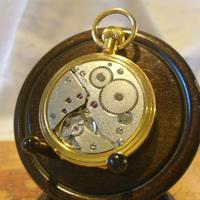 Vintage Pocket Watch 1970s Swiss County 17 Jewel 12ct Gold Plated FWO (11 of 12)