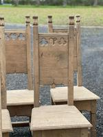 Set 8 Oak Farmhouse Dining Chairs (6 of 14)