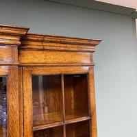 Super Quality Solid Oak Antique Library Bookcase (2 of 9)