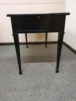 Ebonised Writing Desk (5 of 5)