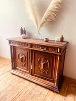 French Antique Sideboard / Buffet / French Walnut Buffet (7 of 10)